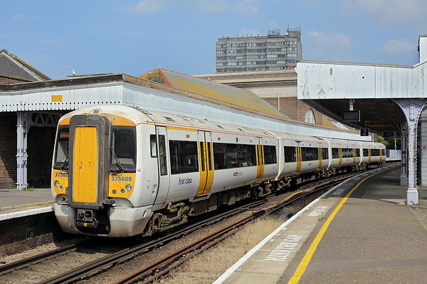 375608 Margate 31/7/2014 1S38 1322 London Victoria-Ramsgate