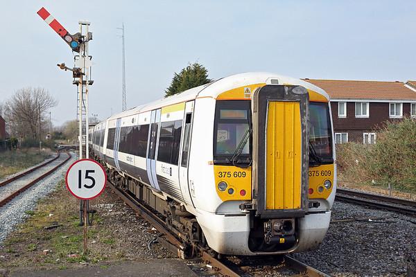 375609 Deal 27/3/2014 2R40 1340 London Charing Cross-Ramsgate