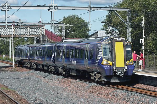 380013 Hillington West 23/7/2011 2G26 1006 Gourock-Glasgow Central