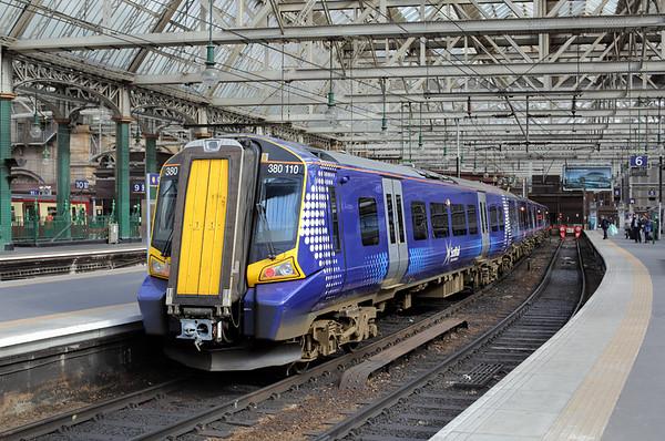 380110 Glasgow Central 19/5/2015 1C54 0828 Ayr-Edinburgh