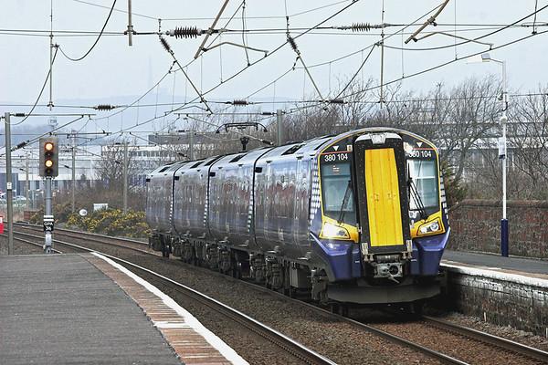 380104 Prestwick Town 23/3/2012 1K15 1100 Glasgow Central-Ayr