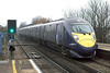 395017 Sittingbourne 18/2/2010<br /> 1F16 0858 London St Pancras International-Faversham