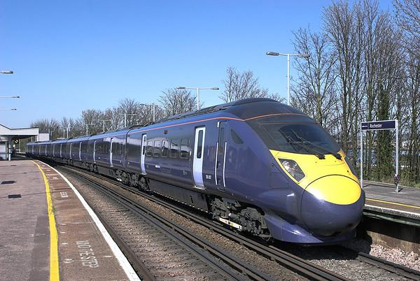 395007 Rochester 8/4/2011 1F32 1252 London St Pancras International-Faversham