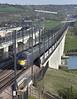 395005 and 395006, Medway Viaduct 8/4/2011<br /> 1J53 1653 Margate-London St Pancras International