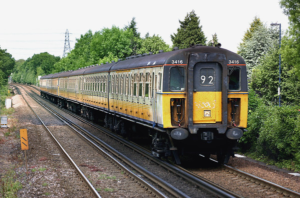 3416 and 3591, Longfield 7/6/2005 2K22 1041 London Victoria-Faversham