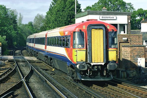 2424 Brockenhurst 26/5/2005 1B49 1605 London Waterloo-Poole