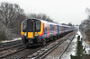 450117 and 450115, Berrylands 10/2/2012<br /> 1A25 1023 London Waterloo-Farnham