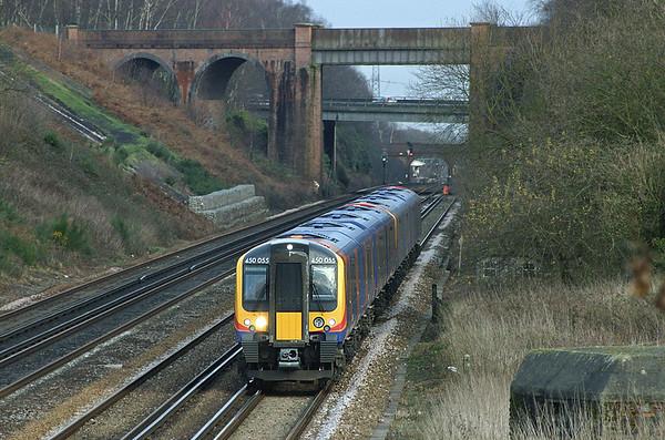 450055 and 450100, Potbridge 20/12/2004