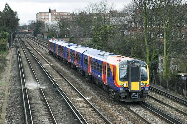 450014 Barnes 24/3/2006 2V35 1337 London Waterloo-London Waterloo (via Hounslow and Richmond)