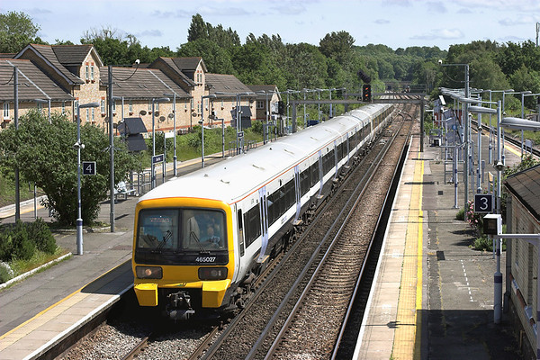 465027 and 465248, Grove Park 14/6/2013 2F42 1406 Sevenoaks-London Charing Cross