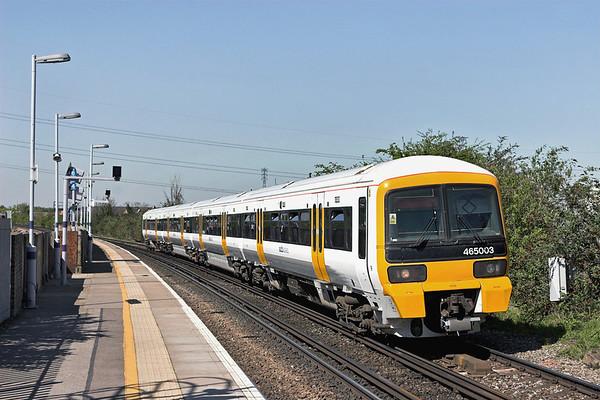 465003 Northfleet 8/4/2011 2N32 1156 London Charing Cross-Gravesend