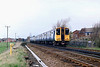 508142 and 507005, Altcar 10/4/1992<br /> 1520 Southport-Hunts Cross