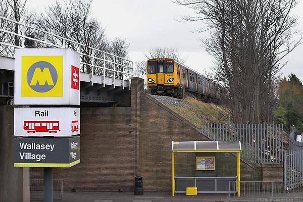 508120 Wallasey Village 9/1/2012 2N25 1223 New Brighton-New Brighton  (via Liverpool Central)