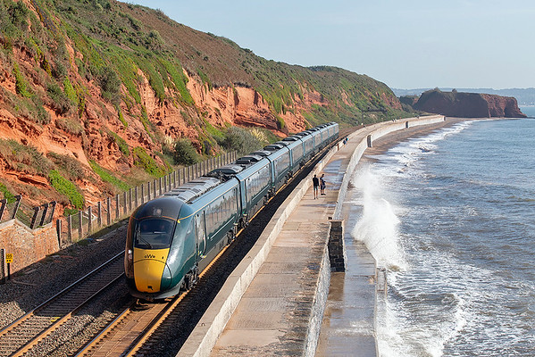800320 Dawlish 19/9/2019 1C72 0703 London Paddington-Paignton