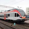 Belarusian Railway (BY) Pesa 730M DMU No. 003 at Minsk-Passazhirsky Station