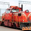 Belarusian Railway (BY) Class TME3 Shunter No.004 at Minsk-Passazhirsky Station