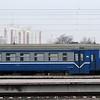 Belarusian Railway (BY) RVR (Rīgas Vagonbūves Rūpnīca) Class ER9T at Minsk-Passazhirsky Station