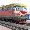 Belarusian Railway (BY) Skoda ChS4T Class Electric Locomotive, No. 555 at Minsk-Passazhirsky Station