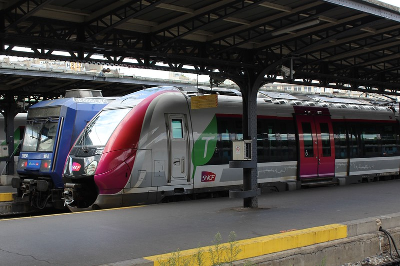 SNCF Transilien Z 50000 'Francilien' EMU No. 131HE at Paris Est
