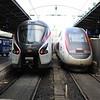 SNCF TGV high speed EMU's at Paris Est