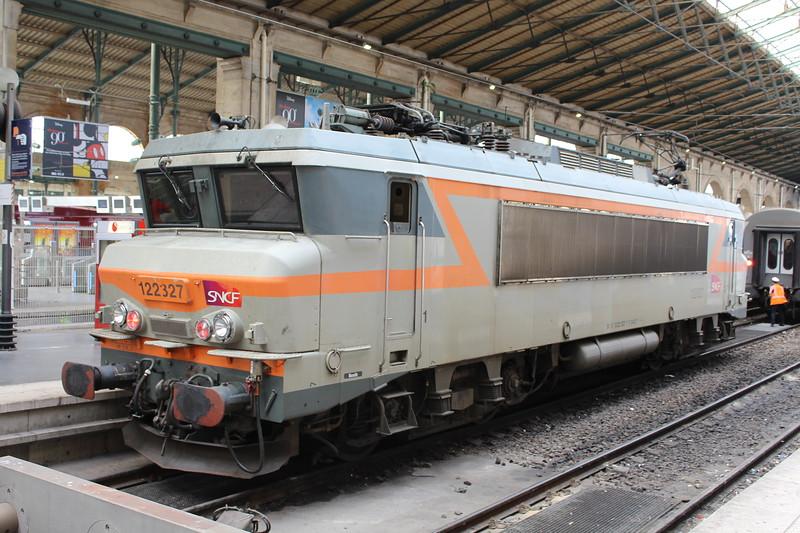 SNCF Class BB 22200 locomotive No. 22327 at Paris Gare du Nord