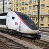 SNCF TGV Duplex high speed EMU No. 4707 / 310014 arriving Paris Est