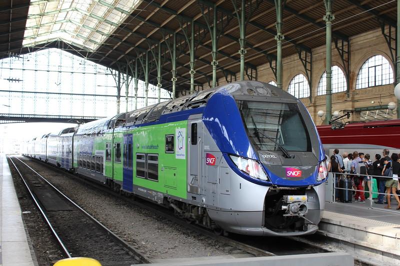 SNCF TER Regio 2N EMU No. 001XL at Paris Gare du Nord