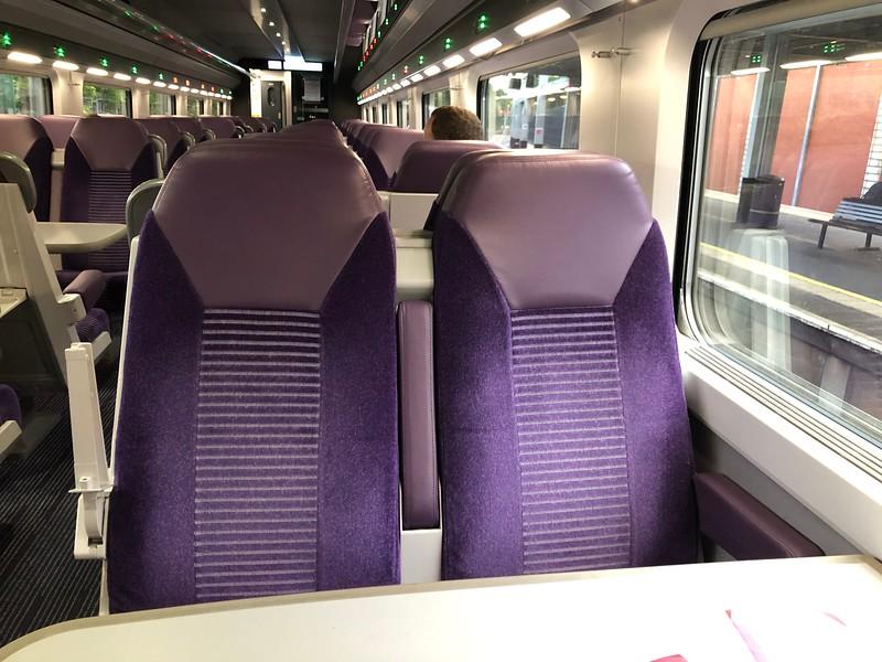 Iarnród Éireann and NI Railways Enterprise – Inside coach