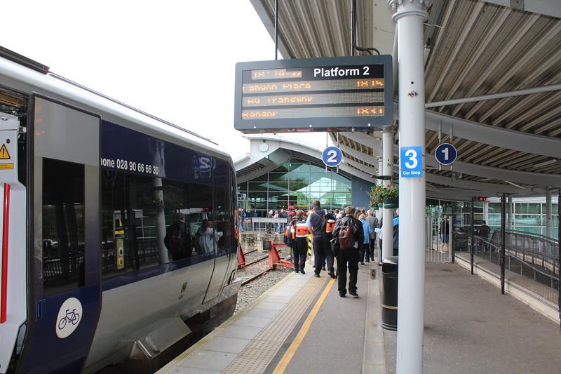 Translink/Northern Ireland Railways Bangor Station – Platform