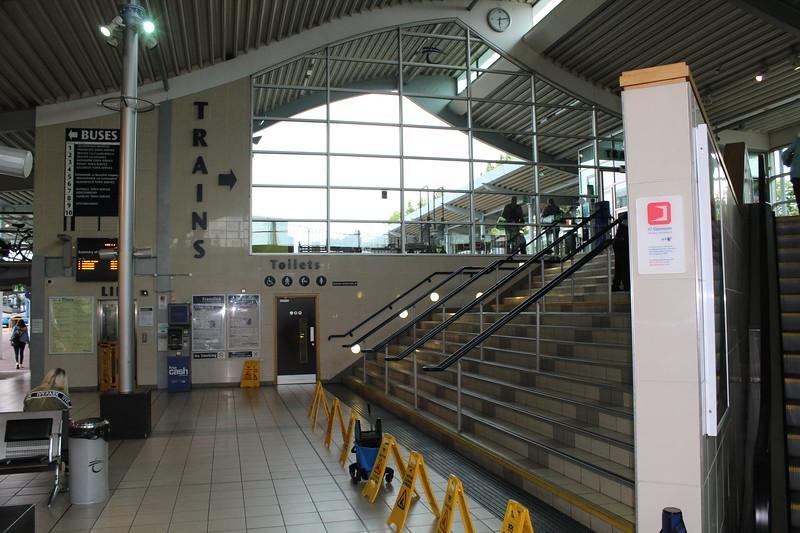 Translink/Northern Ireland Railways Bangor Station – Booking Hall