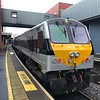 Iarnród Éireann Class 201 locomotive No. 231 at Belfast Lanyon Place Station