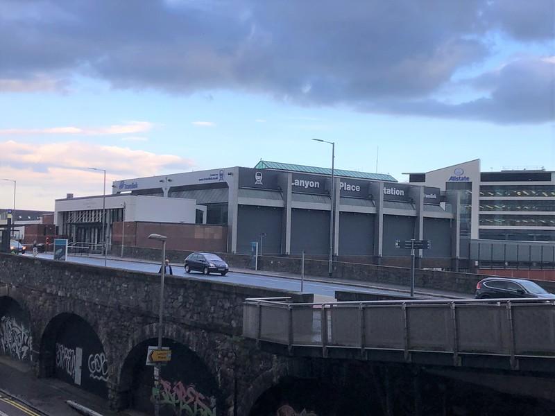 Translink Belfast Lanyon Place Station