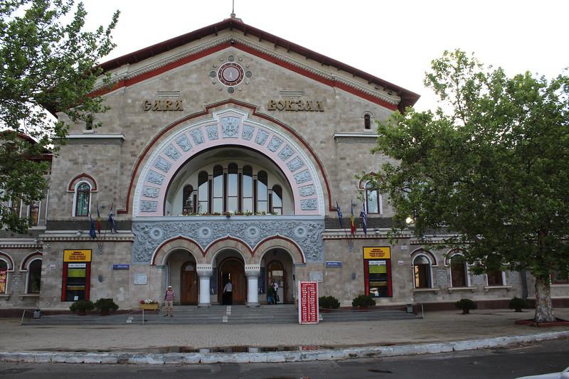 Calea Ferată din Moldova (CFM) Chișinău railway station entrance