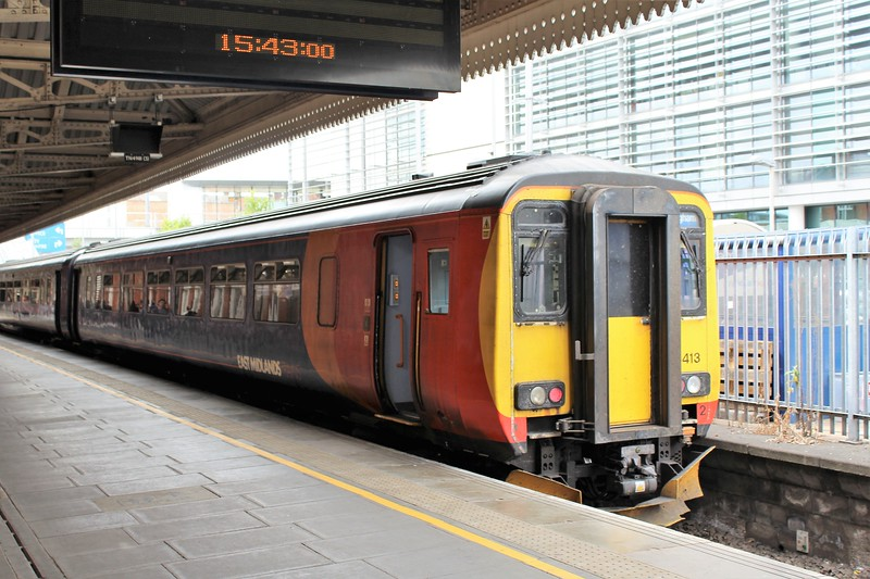 East Midlands Trains Class 156 No. 156413 at Nottingham Station
