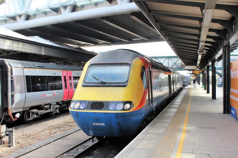 East Midlands Trains Class 43 No. 43066 High Speed Train (HST) at Nottingham Station