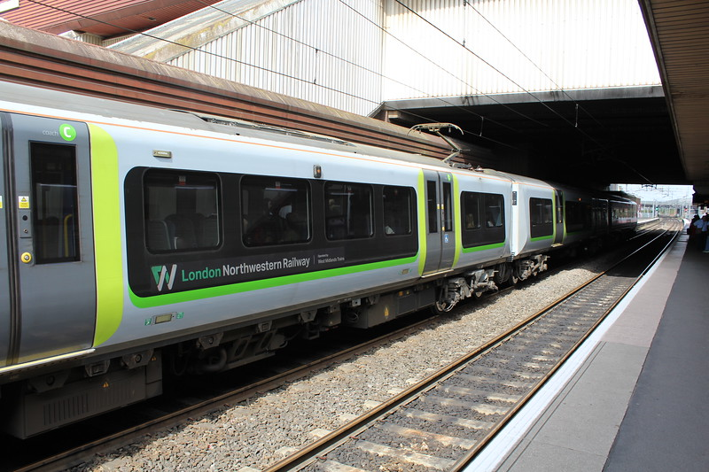 London Northwestern Railway Class 350 at Birmingham International Station