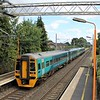 Arriva Trains Wales Class 158 No. 158836 & 158833 at Marston Green Station