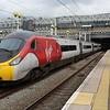 Virgin Trains Class 390 Pendolino 390125 at London Euston Station
