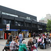 London Euston Station – Front entrance and courtyard