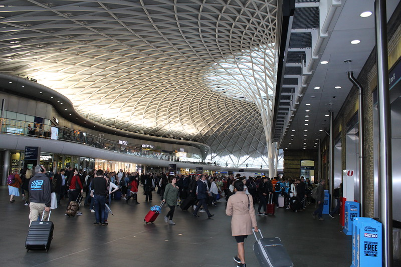 London King's Cross Station – Departures concourse