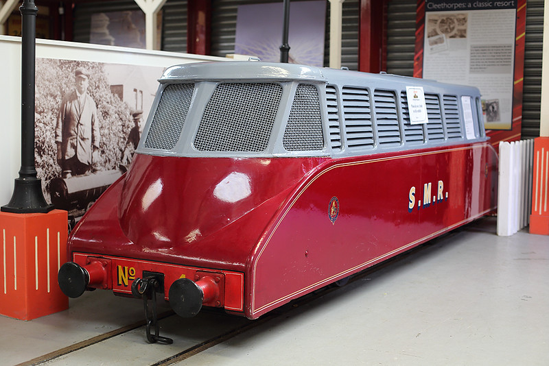 Sutton Minature Railway (Sutton Coldfield) Railcar 4, Lakeside Museum 14/4/2014
