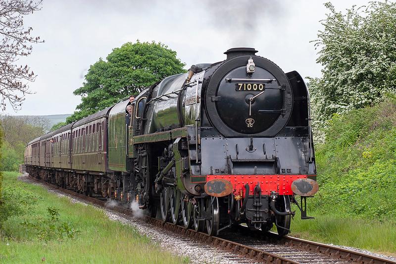 71000 'Duke of Gloucester', Irwell Vale 20/5/2007<br /> 1450 Rawtenstall-Heywood