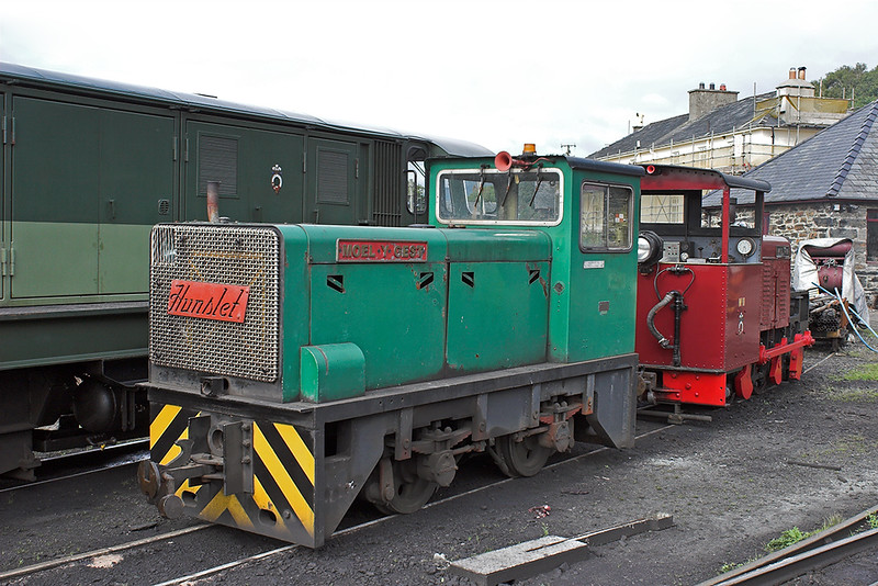 'Moel y Gest' and 'Moelwin', Boston Lodge 7/8/2012