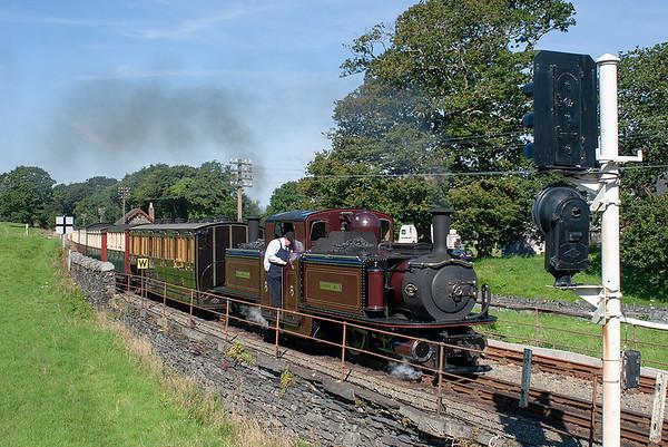 'Merddin Emrys', Minffordd 9/8/2012 1015 Porthmadog-Blaenau Ffestiniog