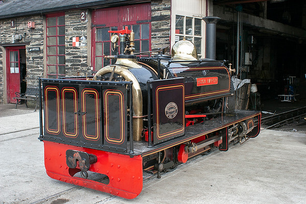 'Hugh Napier', Boston Lodge 7/8/2012