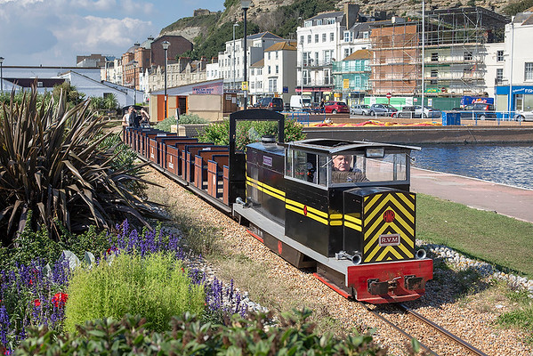 'Speedy Fizzle', Hastings Minature Railway 12/9/2014