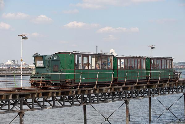Hythe Pier Railway No.1, Hythe Pier 27/8/2013