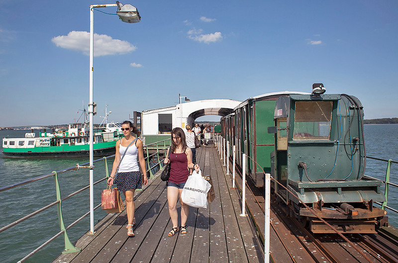 Image result for Hythe pier railway
