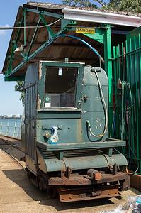 Hythe Pier Railway No.2, Hythe Pier 27/8/2013