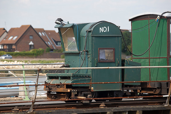 Hyth Pier Railway No.1, Hythe Pier 27/8/2013